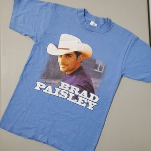 Brad Paisley Time Well Wasted Tour T-shirt. Size S